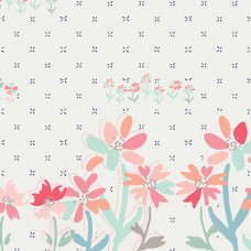 Paperie - Gathering Blooms (border print)