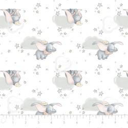 Disney Sentimental - Dumbo Co-ordinate - 1 Fat Quarter Remaining