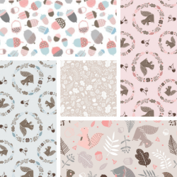 Watson in the Woods - Fat Quarter Bundle