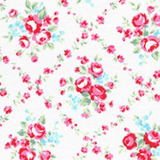 Flower Sugar - Lattice on white