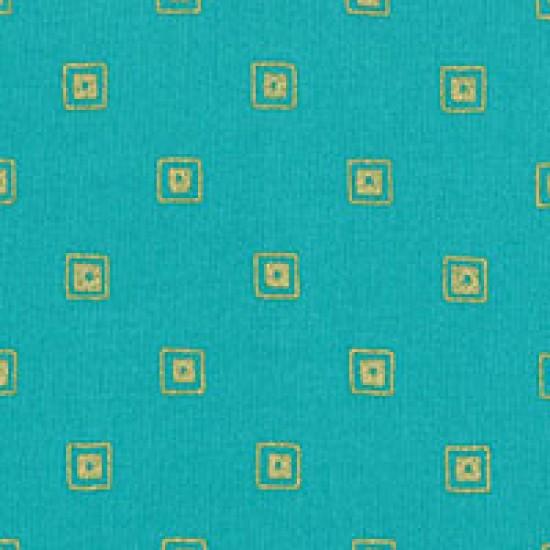 Modern Basics - Square Turquoise