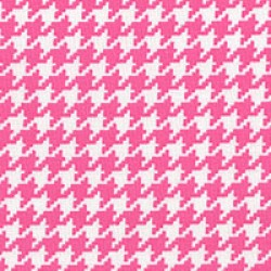 Modern Basics - Houndstooth Pink