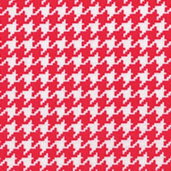 Modern Basics - Houndstooth Red