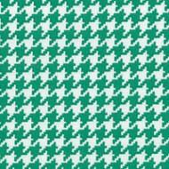 Modern Basics - Houndstooth Green