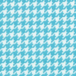 Modern Basics - Houndstooth Blue