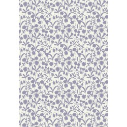 Bluebell Wood - Lavender Floral Silhouette