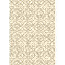 Celtic Reflections - Cream Celtic Knot with Gold Metallic