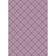 Celtic Reflections - Purple Check with Gold Metallic