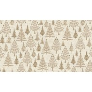 Scandi Trees Hessian
