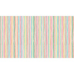 Flo's Friends - Chalk Stripe - Last FQ remaining!