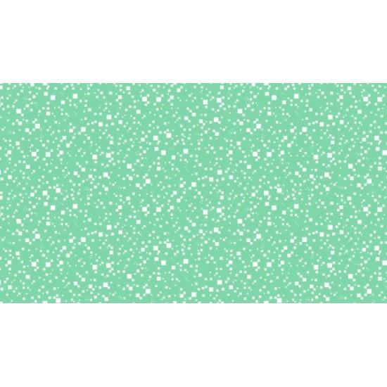 Flo's Friends - Pixels - Green - 1 Cut FQ