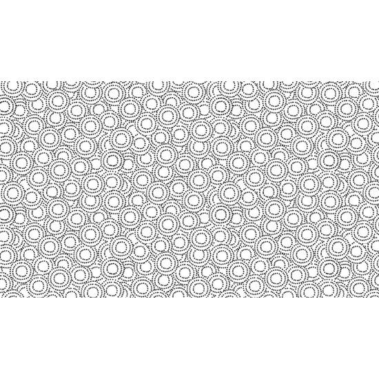 Monochrome - Circles - Black on White