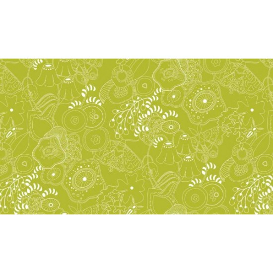 "Sun Prints 2016 - Grow Fern - 63"" Bolt End"