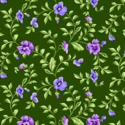 Emma's Garden - Trailing Pansy Green