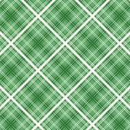 Hi Di Ho - Diagonal Plaid Green