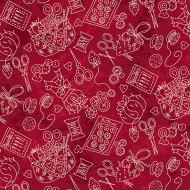 The Little Things - Stitching Stuff Red
