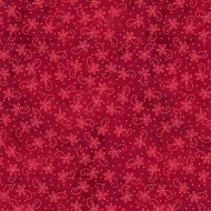 The Little Things - Lazy Daisy Twirl Red