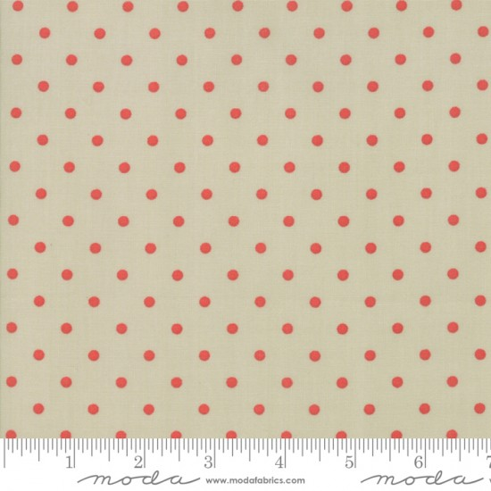 101 Maple Street - Pale Sage Deep Dish Dots