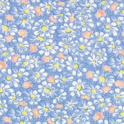 30's Playtime Favorites - Blue Daisies