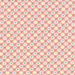 30's Playtime Favorites - Pink Circle Flower