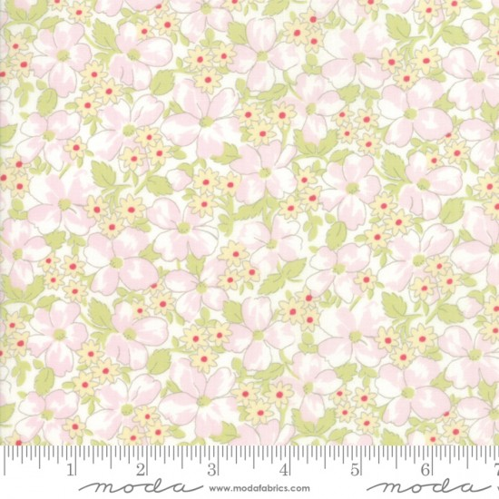 Amberley - Floral Field Linen White