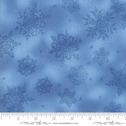 Forest Frost Favorites - Blue Large Snowflake Metallic