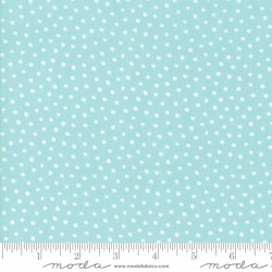 Snow Day - Snow Dots Aqua