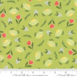 Clover Hollow - Leaf Green Flower Daze