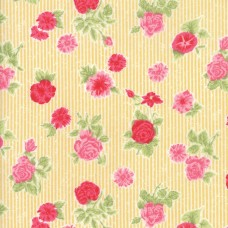 Cottontail Cottage - Buttercup Yellow Cottage Floral