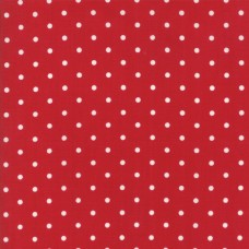 Cottontail Cottage - Country Red Dots