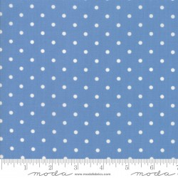 Cottontail Cottage - Bluebell Blue Dots