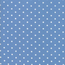 Cottontail Cottage - Dots Bluebell Blue