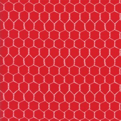 Farm Fun - Strawberry Red Chickenwire