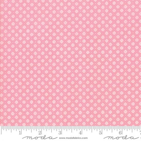 Finnegan - Flower Stitch Pink