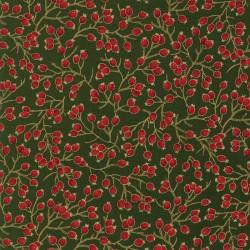 Gilded Greenery Metallics - Evergreen Berries