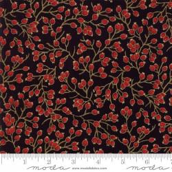 Gilded Greenery Metallics - Ebony Berries