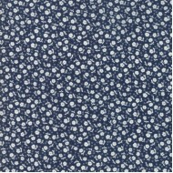 Guest Room - Midnight Flowers Dots