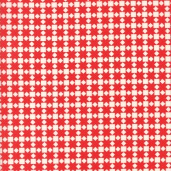 Handmade - Star Quilt Red