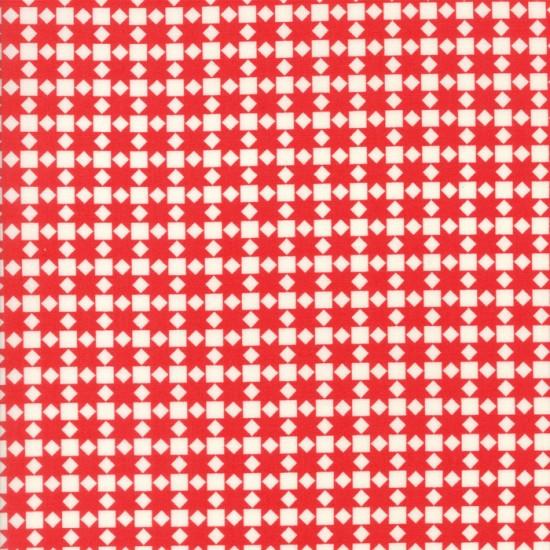 Handmade - Star Quilt Red