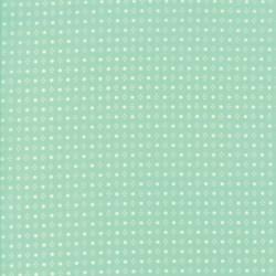 Handmade - Aqua Spots - 1 FQ