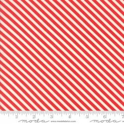 Handmade - Red Candy Stripe