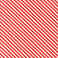 Handmade - Red Candy Stripe