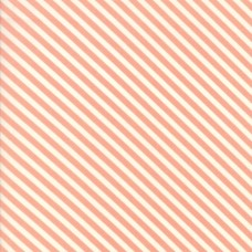 Handmade - Coral Candy Stripe