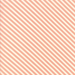Handmade - Candy Stripe Coral