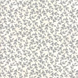 Homegrown - Leaves Distressed Whitewash