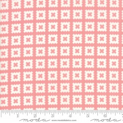 Little Snippets - Quilt Blocks Coral