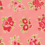 Little Snippets - Marmalade Floral Coral