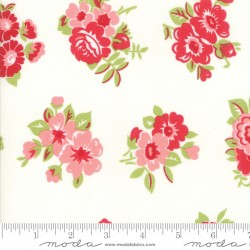 Little Snippets - Marmalade Floral Cream