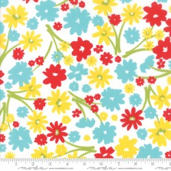 Mama's Cottage - Multi Floral Flower Patch