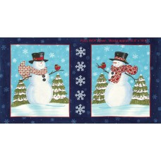 Snow Much Fun - Snowman Panel